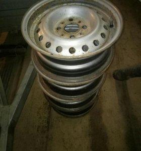 Штампованные диски r13