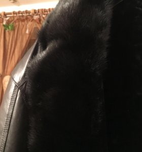 Кожаная куртка /дублёнка
