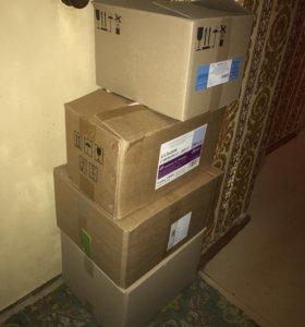 Коробки с вещами