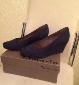 Новые туфли Tamaris размер40