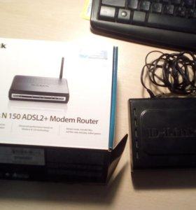 ADSL модем (роутер) D-LINK