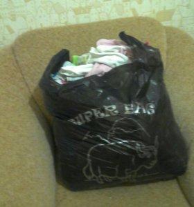 Пакет вещей на девочку от 0 до1года