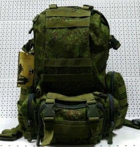 Тактический рюкзак с подсумками Байкал