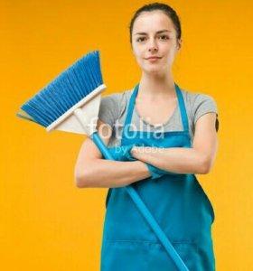 Уборка квартиры и домов и офисы.