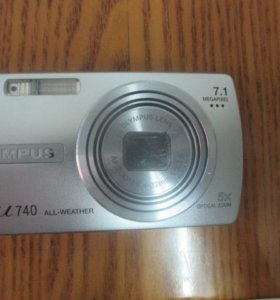 Цифровой фотоаппарат Olympus µ 740