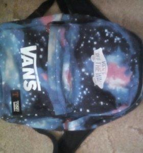 Рюкзак VANS с космосом