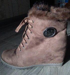 Продам НОВЫЕ ЗИМНИЕ ботинки!❄️