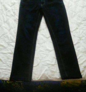 Женские утеплённые джинсы