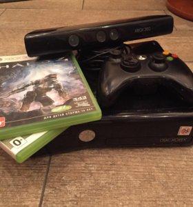 Xbox 360 slim +Kinect,в отличном состоянии