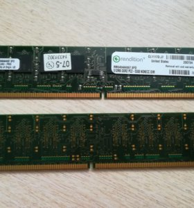 DDR2 512 MB PC-5300