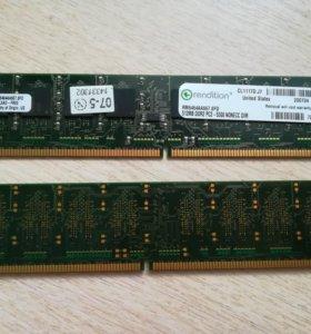 DDR2 512 MB PC-5300