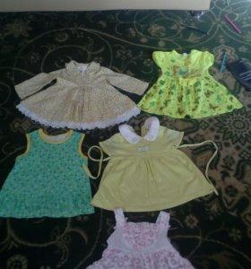 Детские платьешки