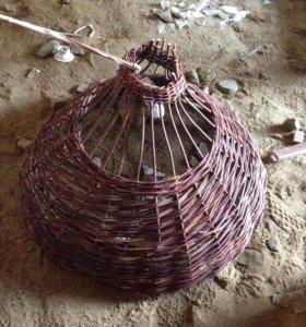 Светильник плетеный
