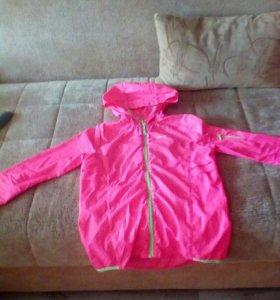 Кофта спортивная розовая