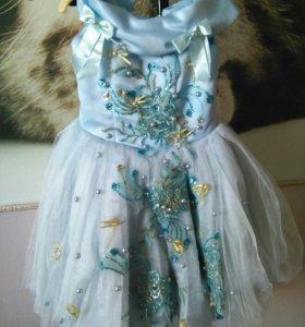Платье детское бальное