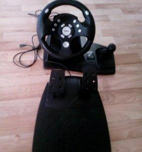 Руль и педали для игр на ПК