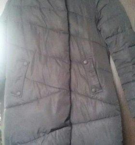 Длинная куртка зимняя