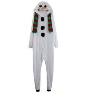 Кегуруми снеговик