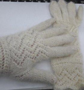 Перчатки пуховые