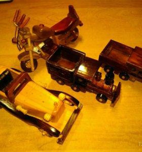 Игрушечные модельки машин