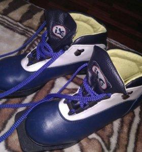 Ботинки лыжные 37- 38 р.