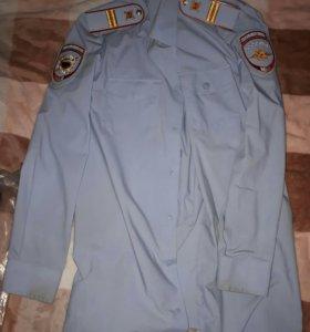 Рубашка повседневная МВД полиции