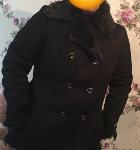 Куртка-искусственная дубленка