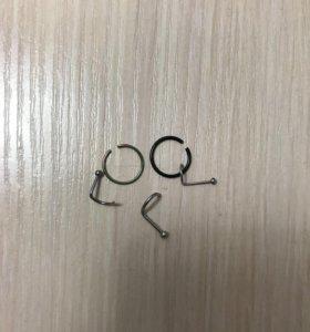 Украшения для пирсинга носа