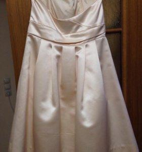 Платье коктейльное, размер М