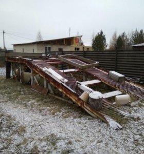 Эстакада для грузового транспорта и спецтехники