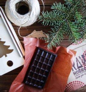 Шоколад ручной работы в подарочной упаковке