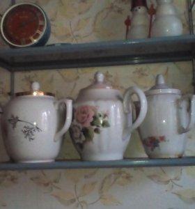 доливные чайники 1,5л кофейные сервизы