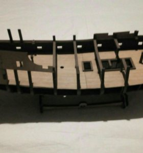 """Модель корабля """"Чёрная жемчужина"""""""