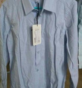 Новая рубашка на мальчика 128 см.