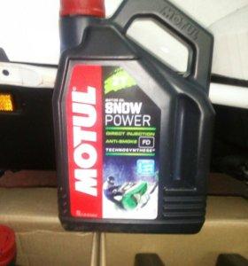 Продам масло Motul 2T snow power