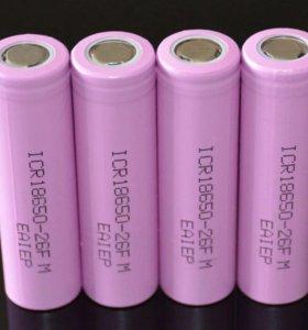 Аккумуляторные батареи 18650 2600mah
