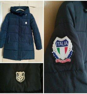 Куртка зимняя как новая