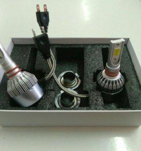 Лампы Led h11 H1 H7 H4 12В 24В