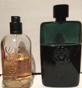 Boss bottled intense, Gucci guilty black