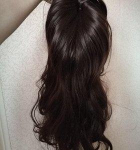 Парик темный волос