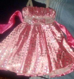 Платье нарядное рост 134