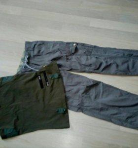 костюм для девочки: брюки и топ