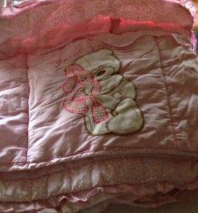 Борты в кроватку за 3 киндера