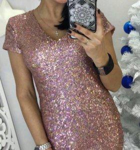Новое платье(пайетки)