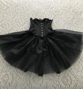 Корсет классический, юбка из фатина