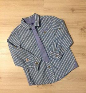 Новая рубашка с галстуком LC Waikiki