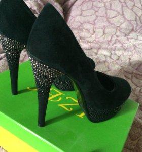 Туфли замшевые ❤
