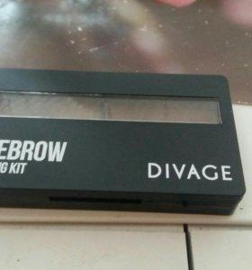 Тени для бровей Divage