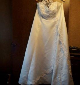 Свадебное платье 52-58