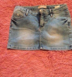 новые джинсовые юбки